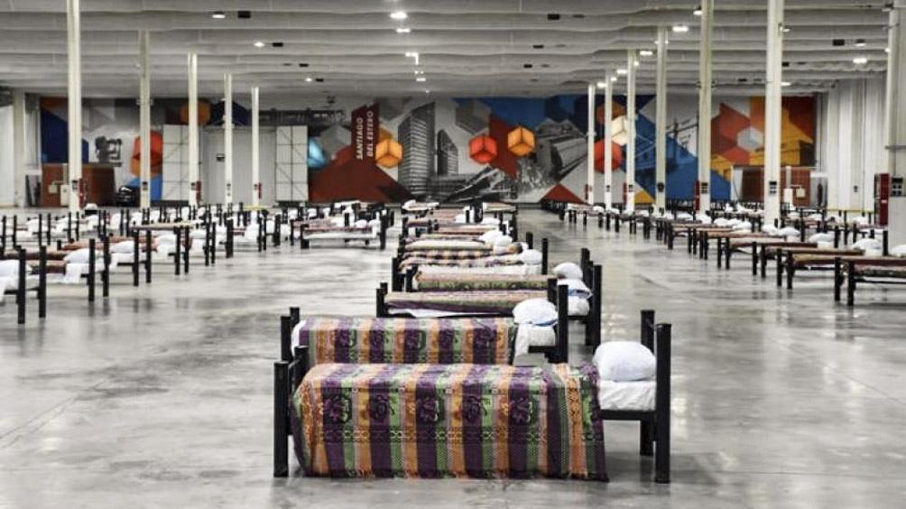 El Nodo Tecnoplógico, el centro de aislamiento donde fueron trasladados los 13 ancianos del hogar de Ancianos Mama Antula.