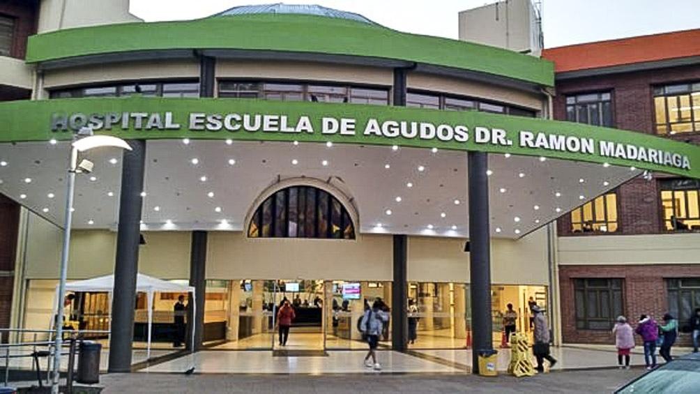En el Hospital Madariaga, de Posadas, Lucía volvió a la vida.