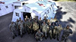 Rossi dijo que las Fuerzas Armadas están preparadas y a disposición para el operativo de vacunación