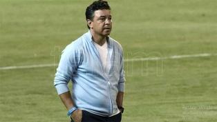 """Gallardo: """"Tenemos un gran deseo de jugar y ganar contra Boca"""""""