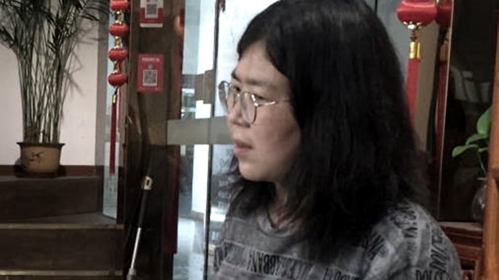 Zhan fue el lunes condenada a cuatro años de cárcel