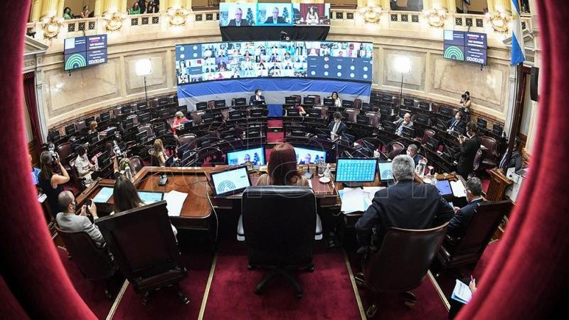 El Senado elegirá a sus autoridades y luego celebrará una sesión especial