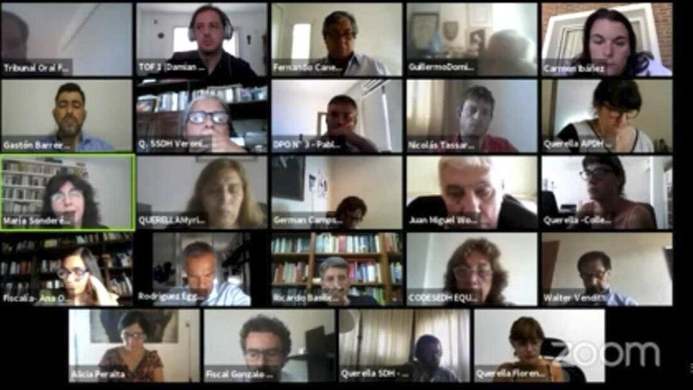 Audiencia virtual del juicio unificado por los delitos cometidos contra casi 500 víctimas alojadas