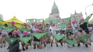 """""""Hoy nos vamos con la ley"""", dicen las Socorristas que acompañan el acceso al aborto seguro"""