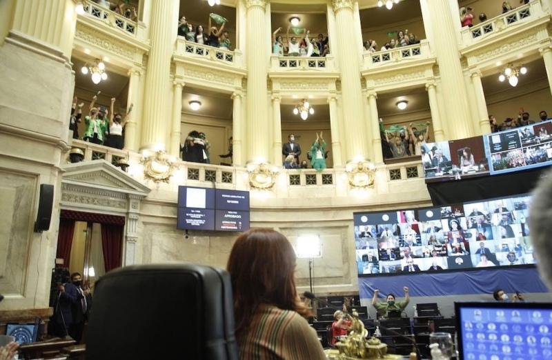 """Cohesión inalterable de los """"verdes"""": las diferencias políticas no complicaron la aprobación"""