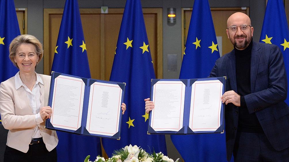 El Parlamento Europeo no ratificará el acuerdo hasta fines de febrero próximo