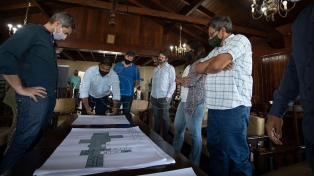 Lammens presentó la segunda etapa de obras para la Unidad Turística Chapadmalal