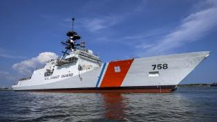 Por qué viene al país un buque patrulla estadounidense