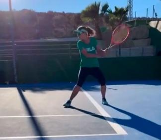 La tenista rosarina apoyó la sanción de la sanción de la IVE.