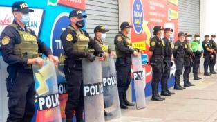 La Policía suspende el acto de campaña de un candidato por riesgos de contagios