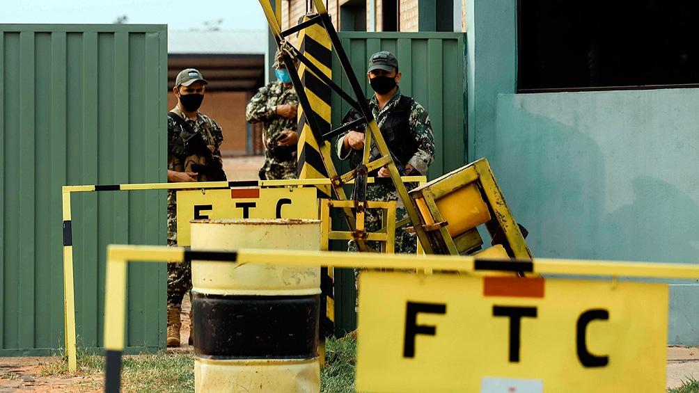 Una patrulla de FTC sufrió un ataque con explosivos cuando circulaban por Amambay