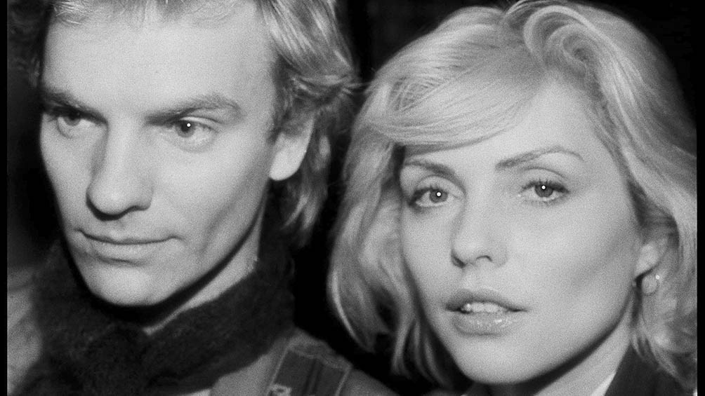 Sting y Debbie Harry.