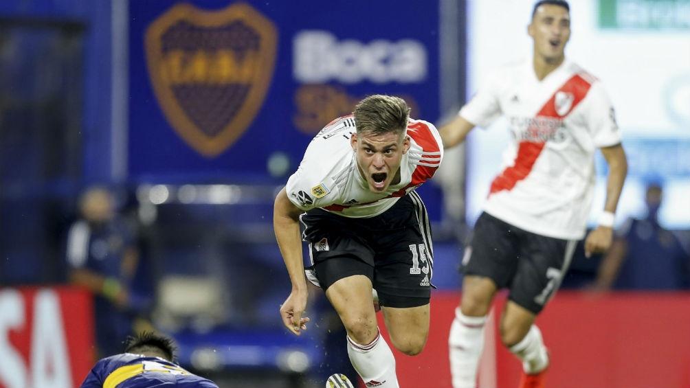 El juvenil Giroti marcó el empate en el último enfrentamiento del superclásico.