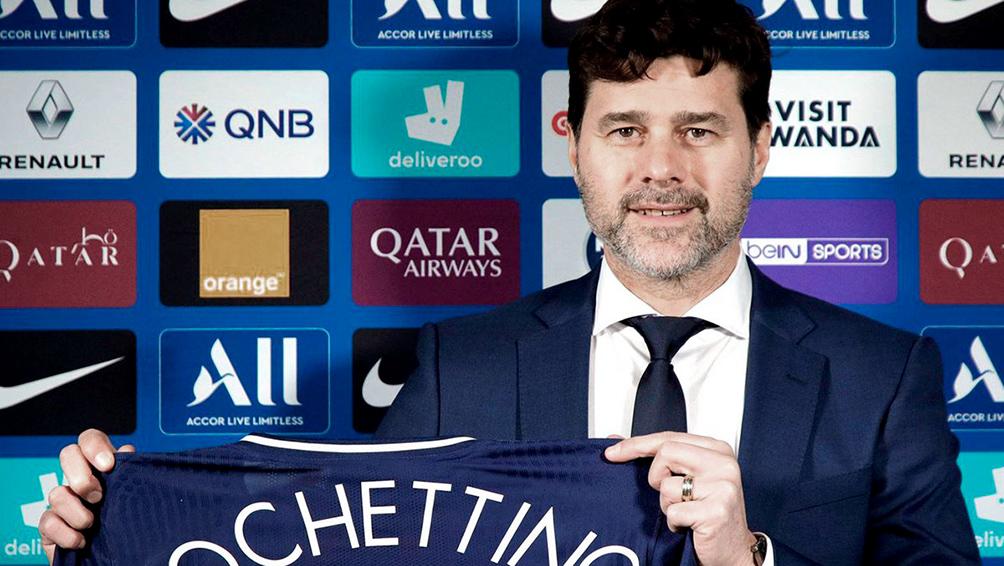 Mauricio Pochettino inicia su ciclo de entrenador del París Saint Germain