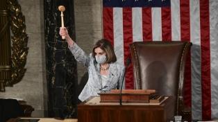 Asume el nuevo Congreso, con Pelosi reelecta y la expectativa por quien controlará el Senado