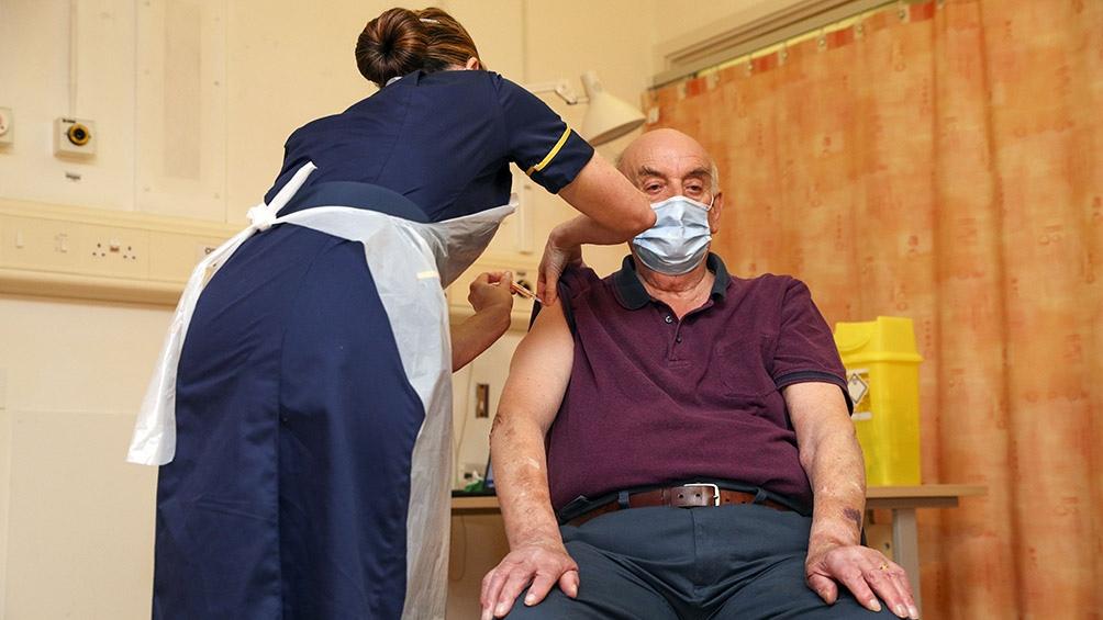 Reino Unido está a la cabeza de la vacunación en Europa.