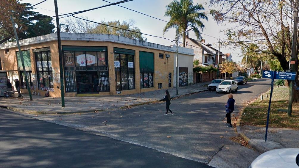 La esquina de Garibaldi y Scalabrini Ortiz, donde fue atropellada Elena Alonso.