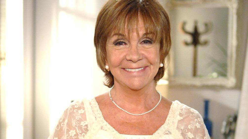 Lago, una actriz con larga trayectoria, que rinde culto a María Elena Walsh.