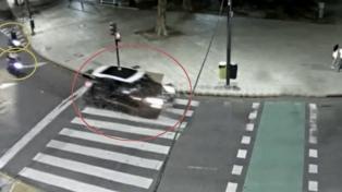 Píparo no informó haber atropellado a los motociclistas al denunciar el robo