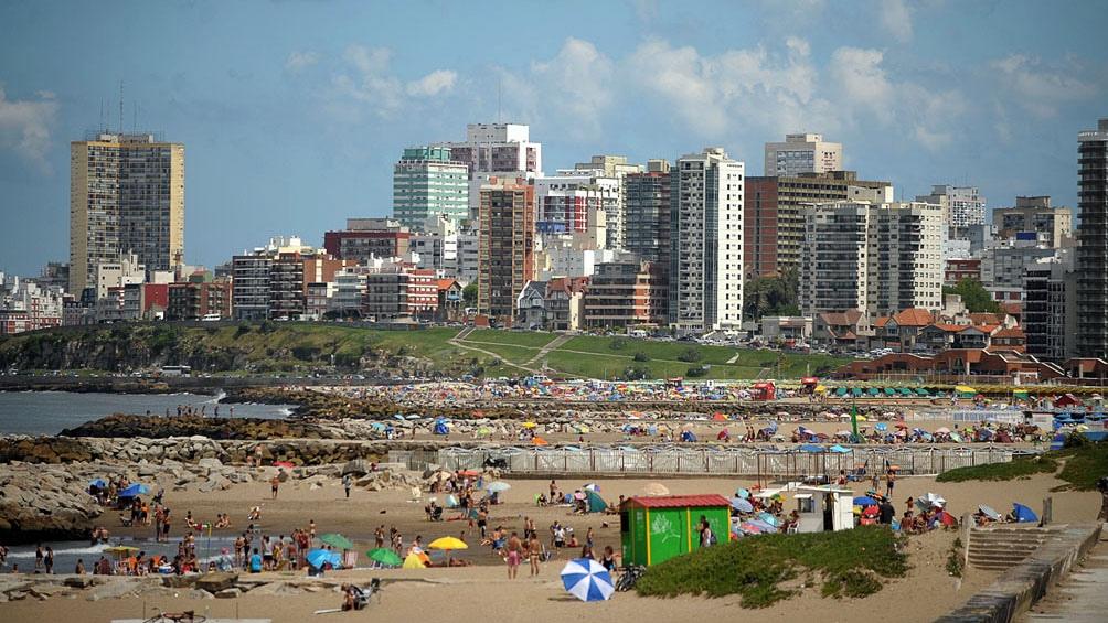 En medio de la pandemia bajó la presencia de turistas en Mar del Plata