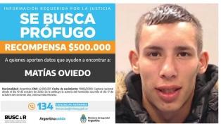 Ofrecen 500.000 pesos de recompensa por datos sobre un joven prófugo por un femicidio