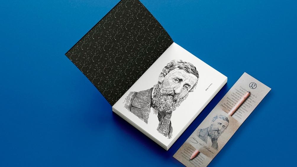 Henry David Thoreau (1817-1862) fue poeta, filósofo, abolicionista, naturalista, agrimensor e historiador estadounidense.