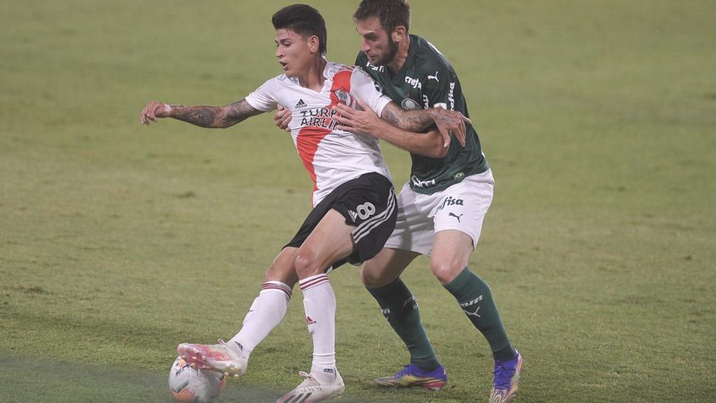 """""""Esto es fútbol y siempre hay errores y aciertos"""", expresó Gallardo en relación a los partidos ante Palmeiras e Independiente."""