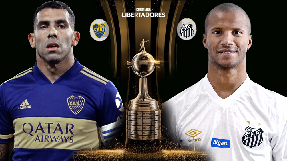 Boca se juega ante Santos el pase a la final de la Copa Libertadores