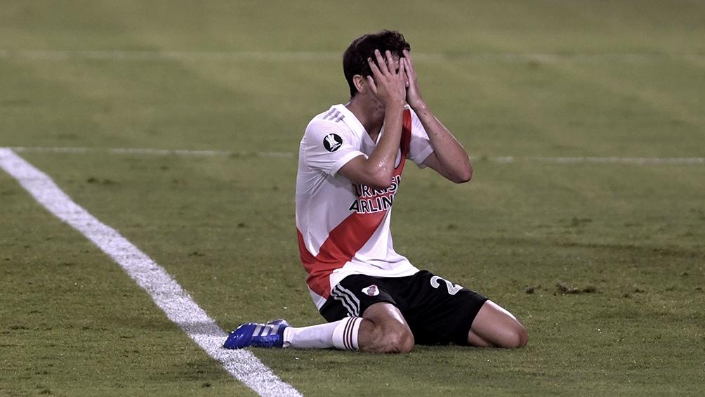 Después de cinco años Nacho Fernández se despidió de River.