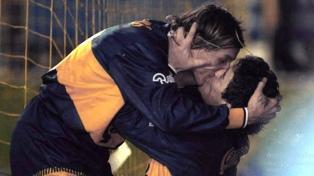 Homenaje a Maradona con fotos de la agencia Télam en Tecnópolis