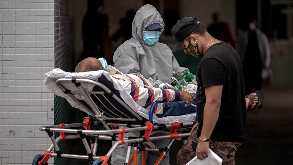 Este jueves colapsaron los hospitales del estado de Amazonas