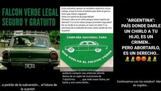 """El gobierno pampeano denunció al policía que pidió el regreso del """"Falcon verde"""""""