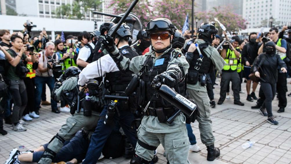 Fue la mayor operación policial desde que rige una ley de seguridad nacional