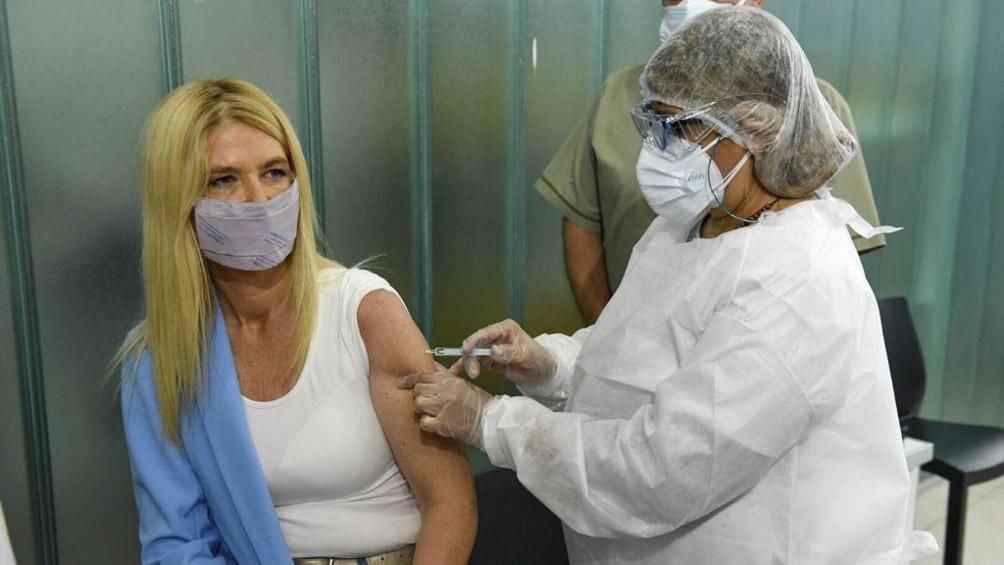 """""""Debemos contar con el mayor número de bonaerenses vacunados"""", dijo Magario."""