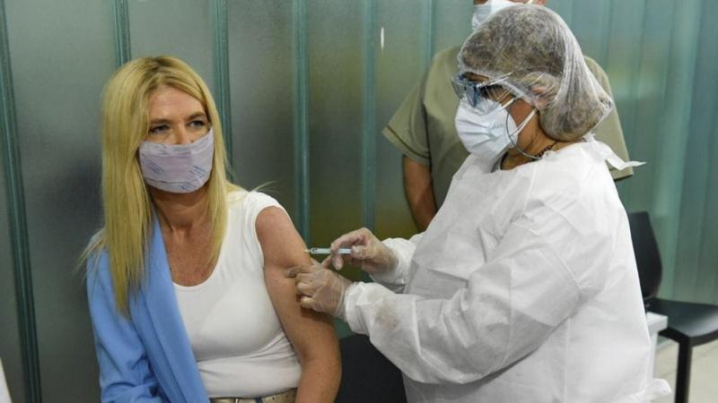Magario pidió a a la población que se registre para recibir la vacuna contra el Covid-19