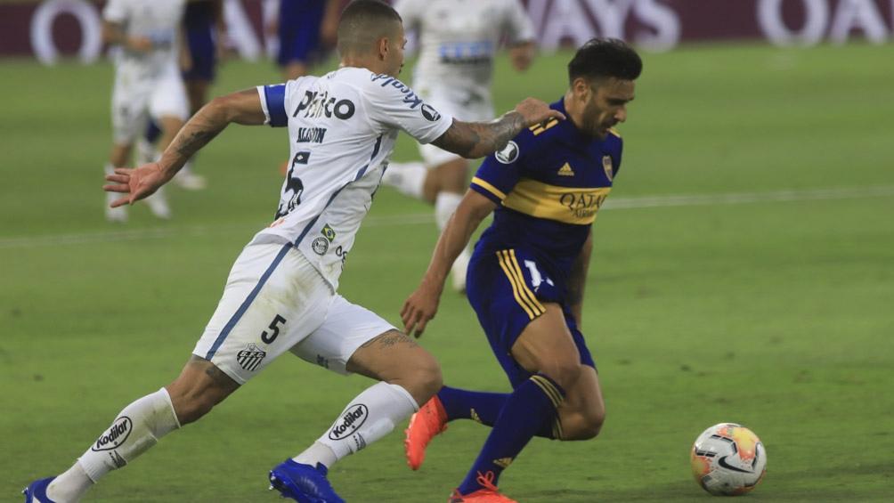 Boca Juniors busca eliminar a Santos en Brasil para acercarse a su séptimo trofeo continental