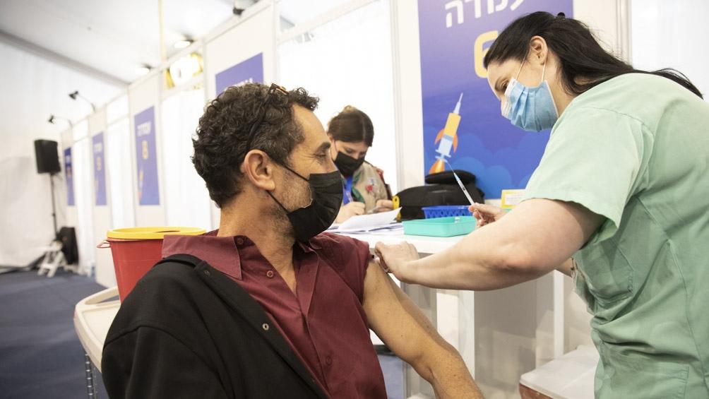Vacunación en Tel Aviv