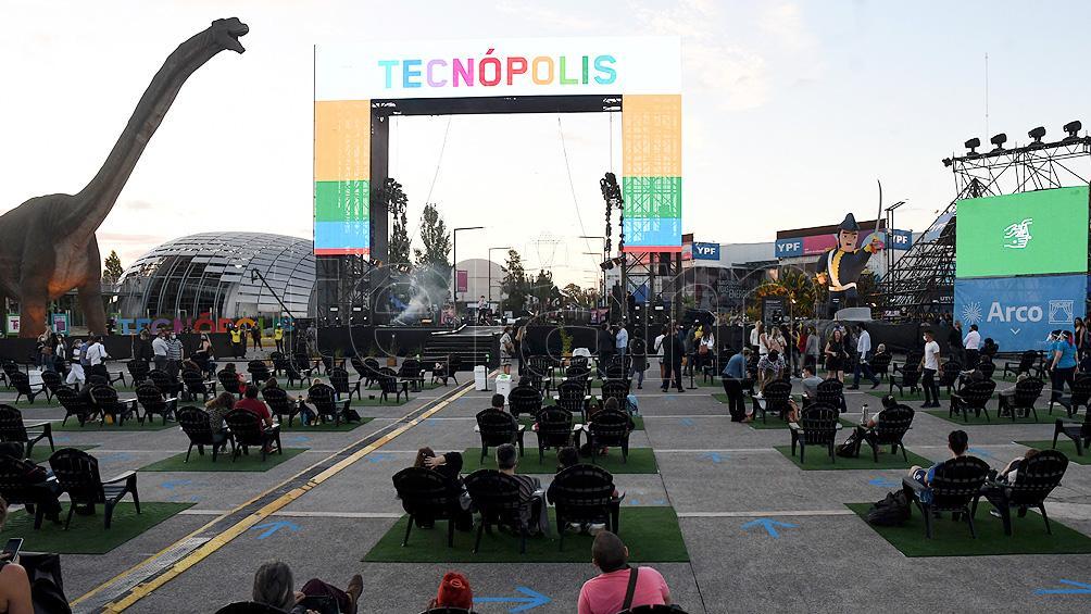 Reabrió Tecnópolis y cientos de personas fueron parte del ciclo Reencuentros Cuidados