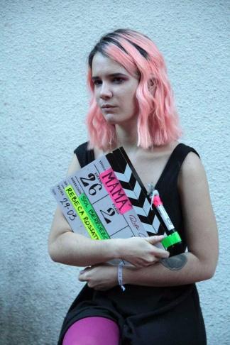 La joven cineasta está trabajando en su segunda película,