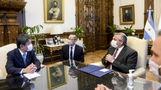 Argentina y Japón acordaron profundizar los vínculos económicos y fortalecer la cooperación