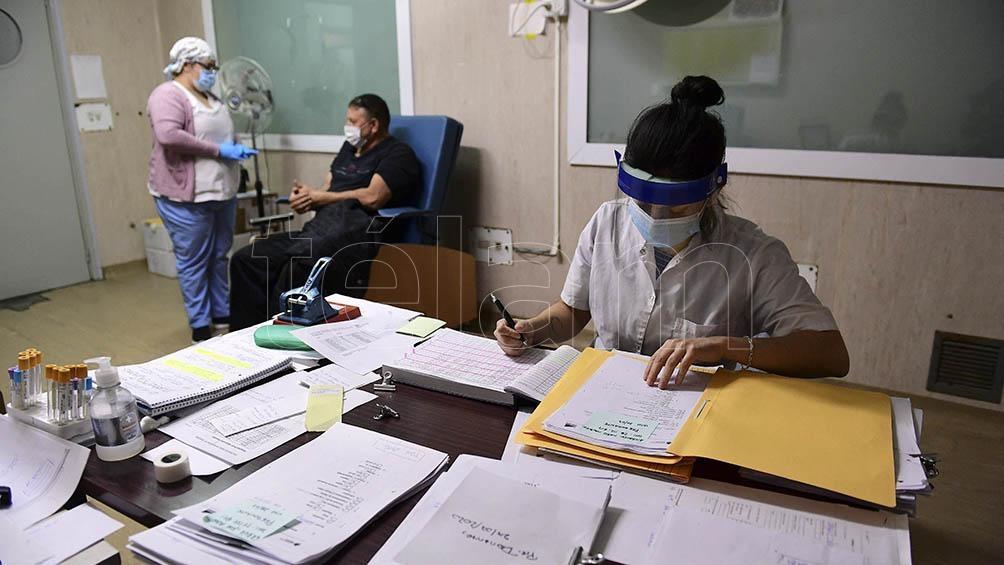 El plasma se usa en el tratamiento de los pacientes que están en la fase aguda.