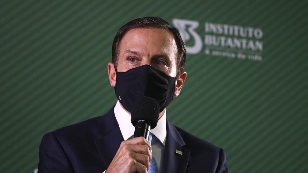 Doria es considerado un presidenciable de la derecha liberal no bolsonarista para los comicios de 2022.