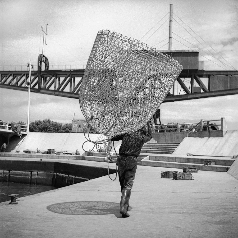 El pescador, tomada por Annemarie Heinrich.