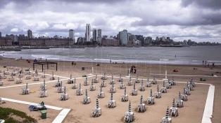 La costa atlántica, con 30% de ocupación de alquileres y precios que se mantienen por baja demanda