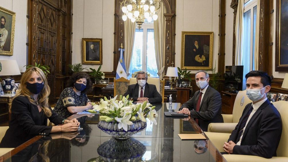 Fernández se reunió con funcionarios de México para compartir las experiencias sobre  la pandemia