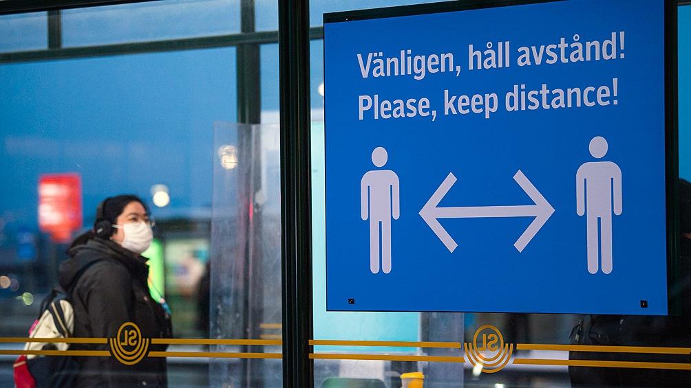 سوئد یکی از کشورهای آسیب دیده در اروپا است