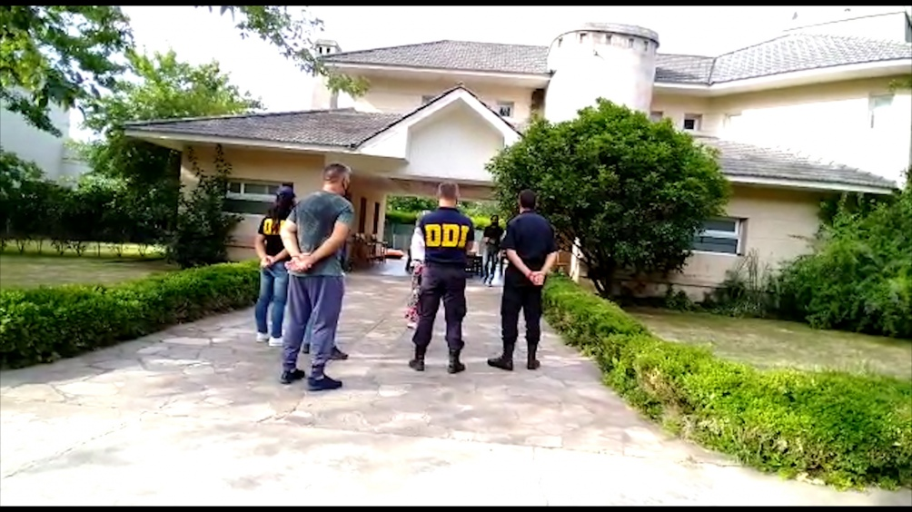 """Buzali fue detenido acusado del """"doble homicidio en grado de tentativa"""" de estos motociclistas."""