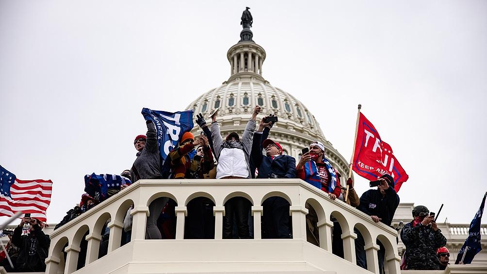 El ataque al Congreso de EEUU fue planeado en Internet y redes sociales, según el FBI