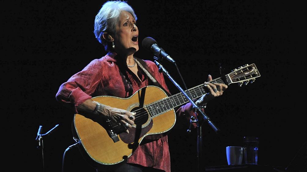 Joan Báez celebra este sábado sus 80 años.
