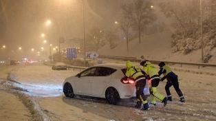 Una semana después, Madrid todavía se recupera de la histórica nevada